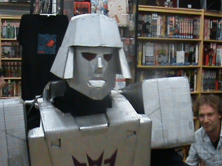 Megatron Makes Mean Faces to the Delight of Adoring Comic Fans!