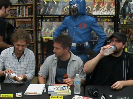 Cobra Commander Watches over his Minions!