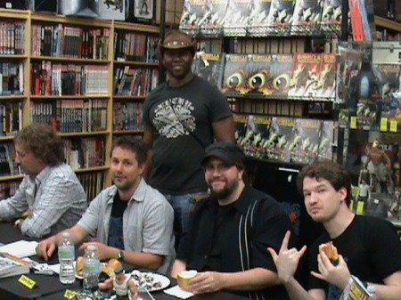 Ron Kerronian and the Crew of IDW Publishing.