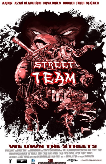 Shawn Alleyne's Street Team cover