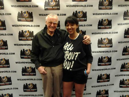 Enrica Jang (Azteca'a writer) and Stan Lee( need I say More?).