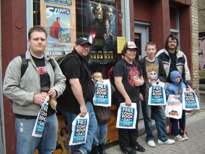How to Make a Major impact on FREE Comic Book Day - The Fans Branded.