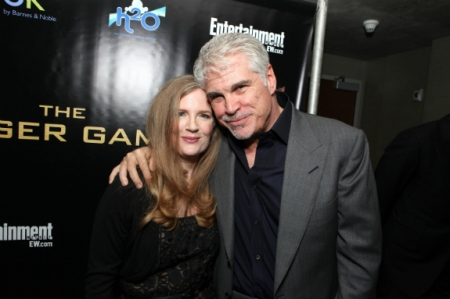 Hunger games author(Suzanne Collinns) and director(Gary Ross).